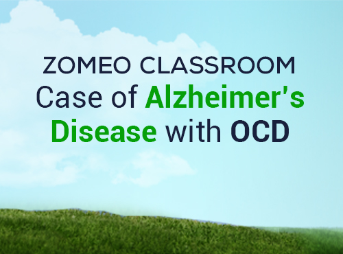 Case of Alzheimer's Disease with OCD