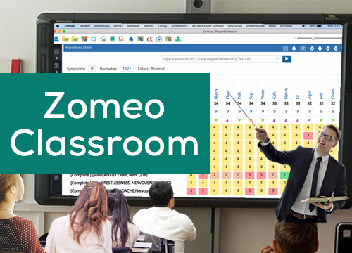 ZOMEO CLASSROOM - Case Solution Using Zomeo Homeopathy Software